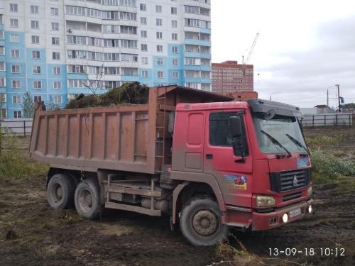 Расчистка участка в районе Чистая Слабода под магазин